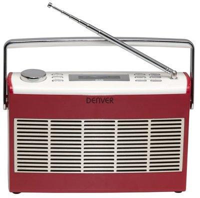 Denver DAB-37 rood DAB+ radio
