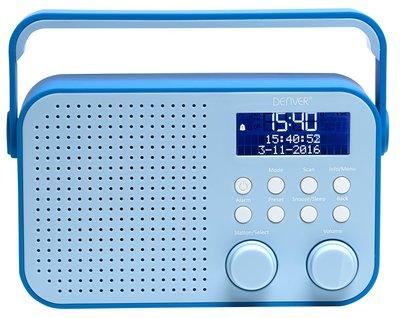 Denver DAB-39 blauw DAB+ radio