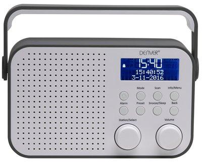 Denver DAB-39 grijs DAB+ radio