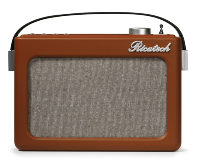 Ricatech PR78 Emmeline Cognac Brown radio