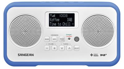 Sangean DPR-77 blauw DAB+ radio