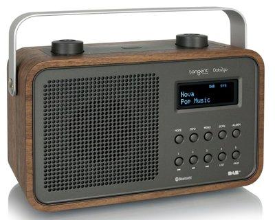 Tangent DAB2go Bluetooth bruin DAB+ radio