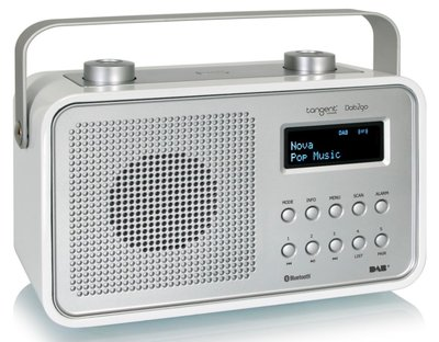 Tangent DAB2go Bluetooth wit DAB+ radio