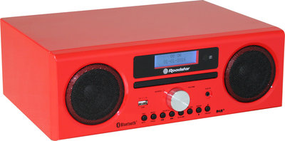 Roadstar HRA-9D+BT Red DAB+ radio