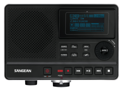 Sangean DAR-101 MP3 recorder