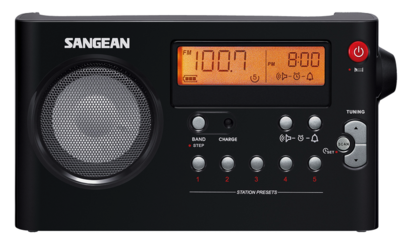 Sangean PR-D7 zwart radio