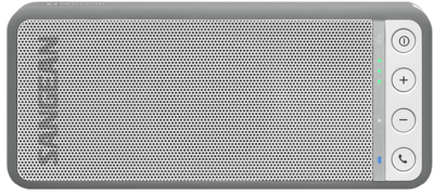 Sangean BTS-101 grijs bluetooth luidspreker