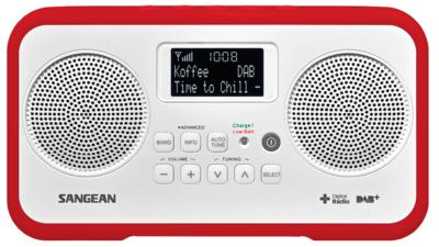 Sangean DPR-77 rood DAB+ radio