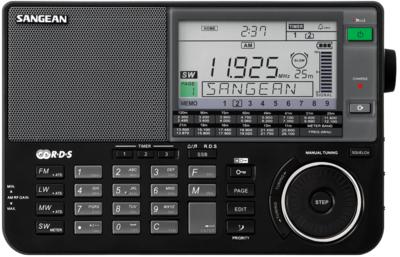 Sangean ATS-909X zwart wereldontvanger