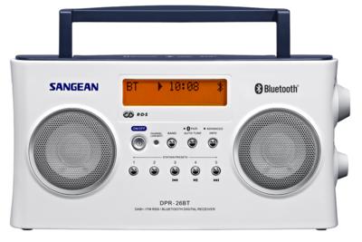 Sangean DPR-26-BT wit DAB+ radio