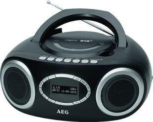 AEG SR4370 DAB+ radio zwart