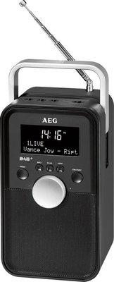 AEG DR4149 DAB+ radio zwart