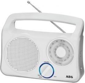 AEG TR4131 draagbare radio wit