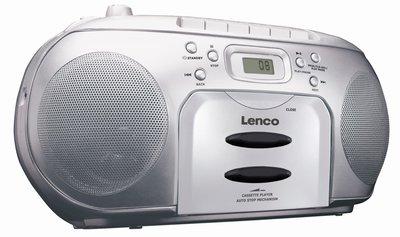 Lenco SCD-420 zilver draagbare radio