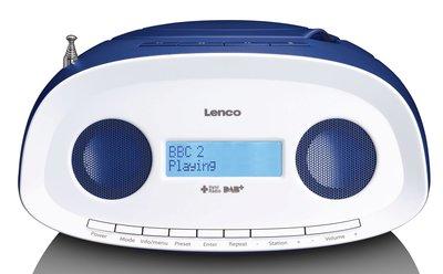Lenco SCD-69 blauw DAB+ radio