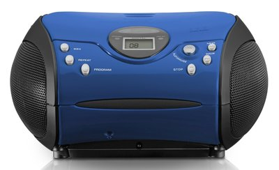 Lenco SCD-24 blauw draagbare radio