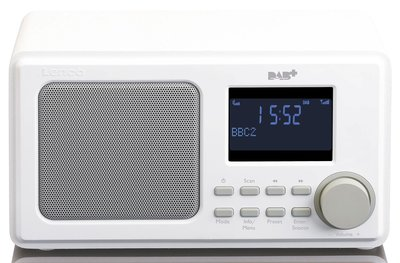 Lenco DAR-010 wit DAB+ radio
