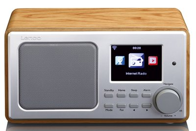 Lenco DIR-100 hout internetradio