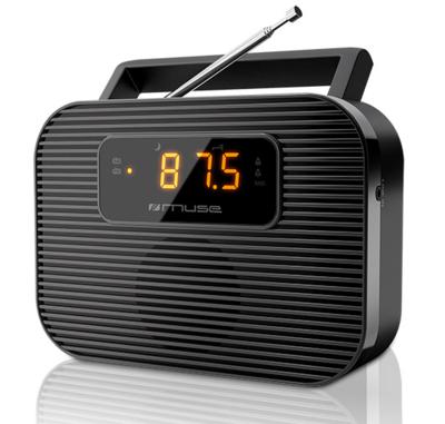 Muse M-080 R draagbare PPL wekkerradio