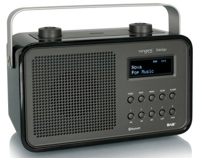 Tangent DAB2go Bluetooth zwart DAB+ radio