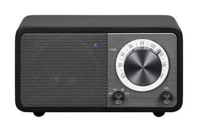 Sangean WR-7 matzwart radio