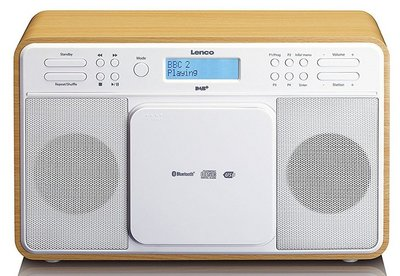 Lenco DAR-040 oak DAB+ radio