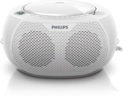 Philips AZ100W draagbare radio