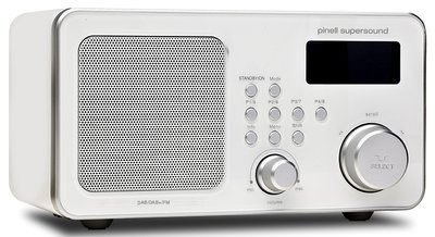 Pinell Supersound wit DAB+ radio