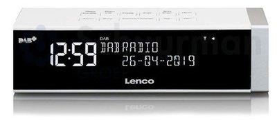 Lenco CR-630 wit DAB+ wekkerradio