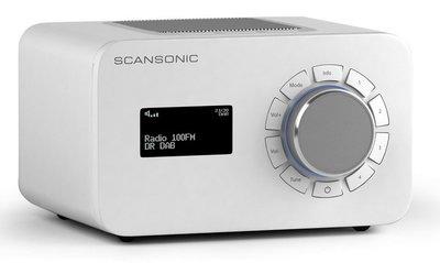 Scansonic R3 wit DAB+ radio