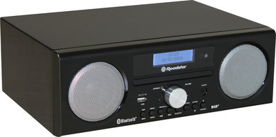 Roadstar HRA-9D+BT Black Laquered DAB+ radio