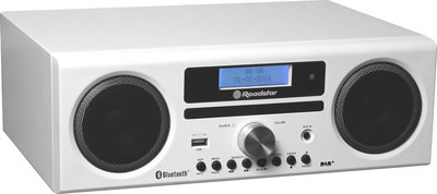 Roadstar HRA-9D+BT White DAB+ radio