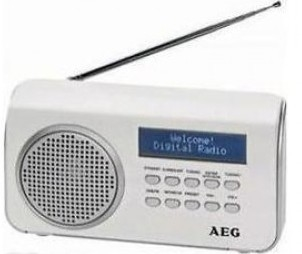 AEG 4130 DAB+ radio wit