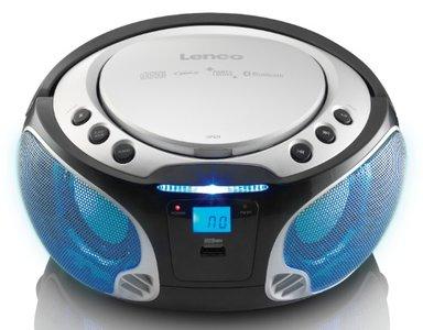 Lenco SCD-550 zilver draagbare radio