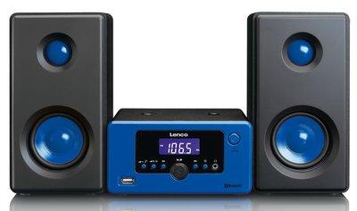 Lenco MC-020 blauw tafelradio