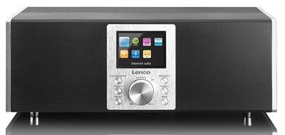 Lenco DIR-2000 zwart DAB+ internetradio