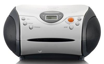 Lenco SCD-24 wit draagbare radio