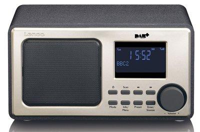 Lenco DAR010 zwart DAB+ radio