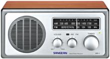 afbeelding van de Sangean WR-1 walnut tafelradio