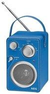 AEG MR4144 draagbare radio blauw
