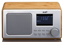 Lenco DAR010 hout DAB+ radio